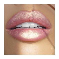 light pink lip polyvore - Google zoeken