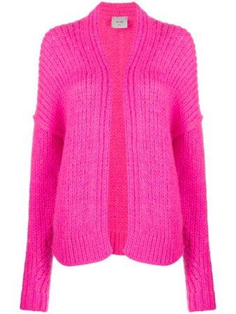 Alysi Open Ribbed Knit Cardigan - Farfetch