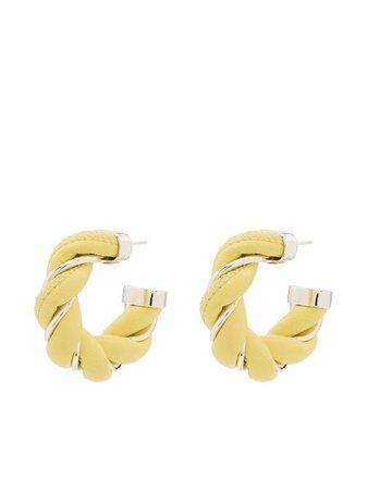 Bottega Veneta Twist sterling-silver Earrings - Farfetch