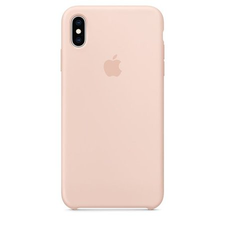 iPhone XS Max Silicone Case - Hibiscus - Apple