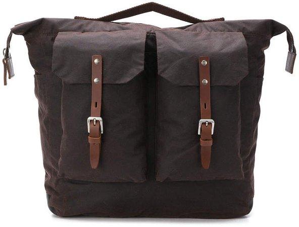 square duffel backpack