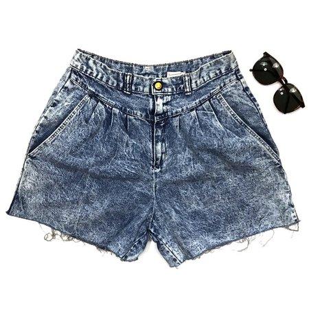 Vintage Shorts | Vintage Acid Wash Cut Off Jean Shorts Denim 8s | Poshmark
