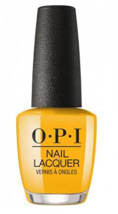 Mustard Yellow Nail Polish
