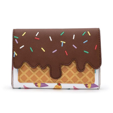 Disney Princess Ice Cream Cone Wallet by Loungefly