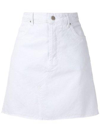 Eva Twill Mini Skirt - Farfetch