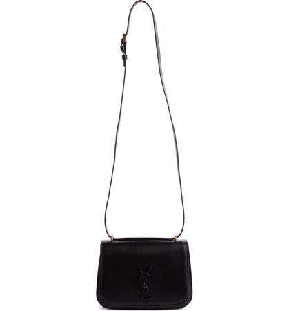 Saint Laurent Spontini YSL Monogram Leather Shoulder Bag   Nordstrom