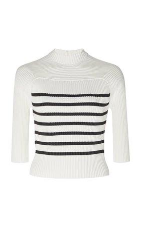 Quincy Ribbed-Knit Sweater by Khaite   Moda Operandi