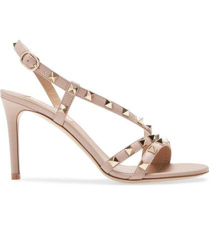 Valentino Rockstud Sandal (Women) | Nordstrom