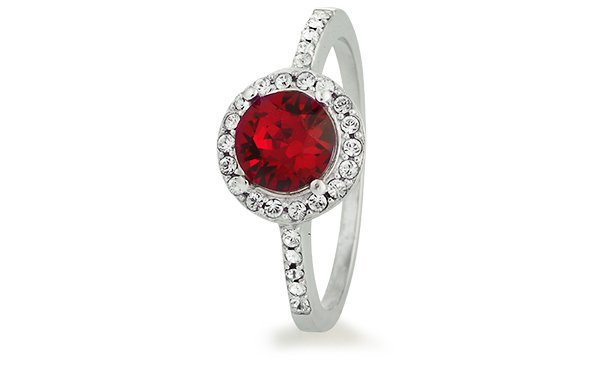 Sterns Jewellery   Sparkling Red Ring   Product