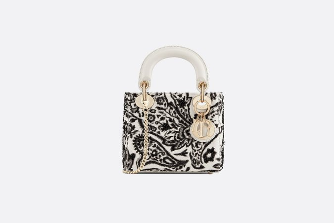 Mini Lady Dior embroidered bag - Bags - Women's Fashion | DIOR