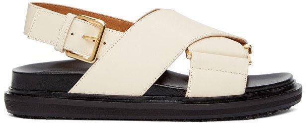 Off-White Fussbett Sandals