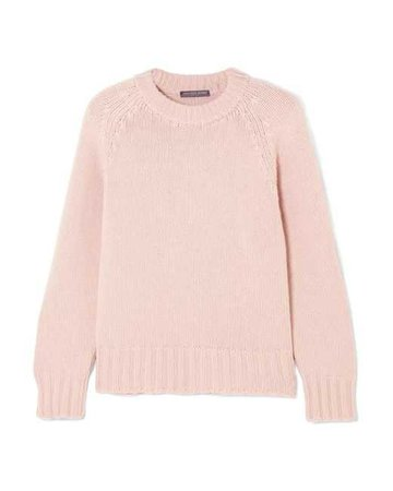 Lyst - Alexander Mcqueen Oversized Cashmere And Wool-blend Sweater in Pink