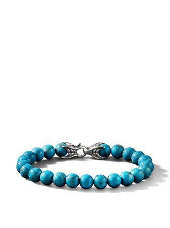 David Yurman Spiritual Bead turquoise bracelet - FARFETCH