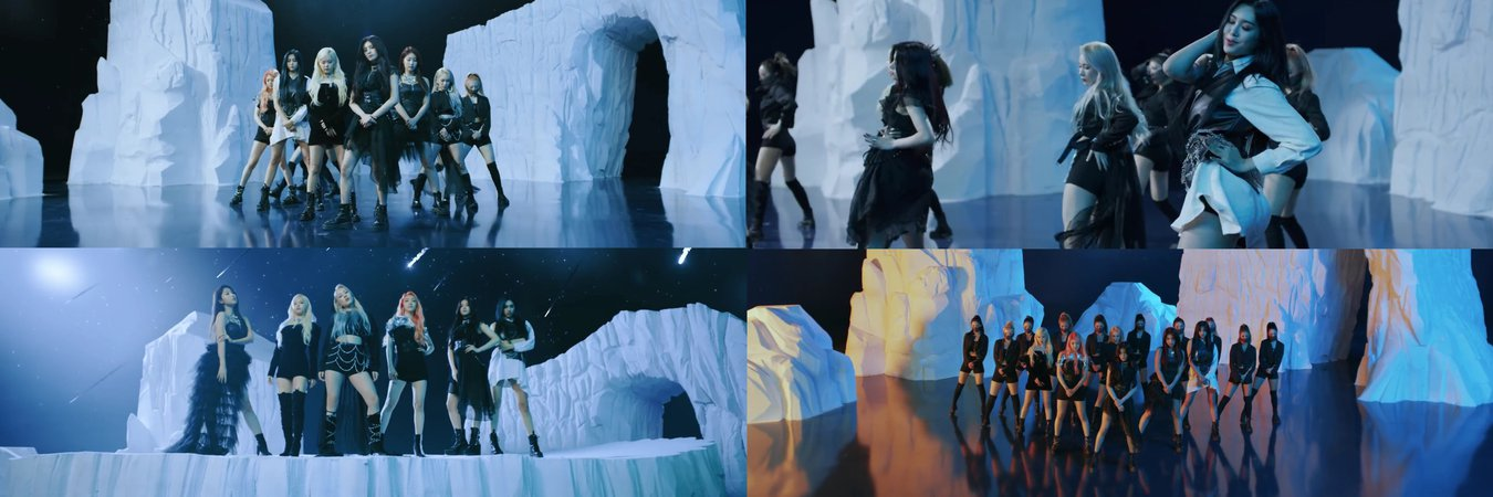 MARIONETTE 'DUN DUN' MV - OPENING SCENE + GROUP SCENE + SOLO SCENES + DANCE SCENE