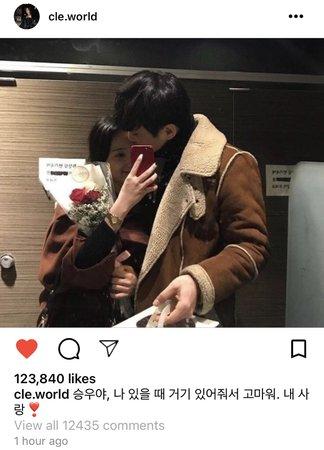 Lee Eunha Instagram Post