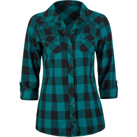 green teal flannel shirts - Google Search