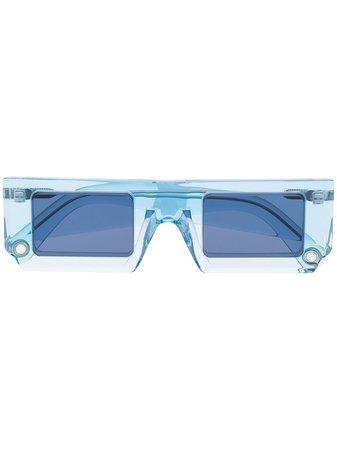 Jacquemus Les Lunettes sunglasses blue LESLUNETTESSOLEILSOB - Farfetch