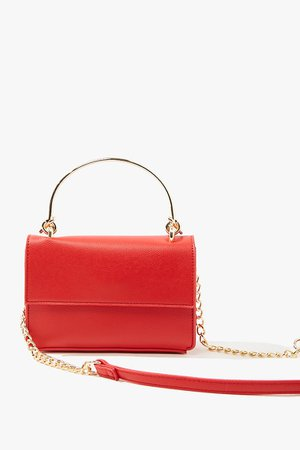 Pebbled Faux Leather Crossbody Bag | Forever 21