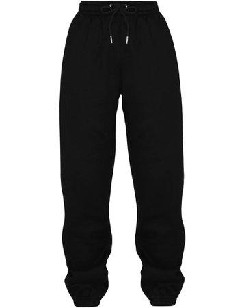 Nasty Rhinestone Black Unisex Sweatpants