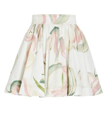 Aje Imprint Floral Mini Skirt | INTERMIX®