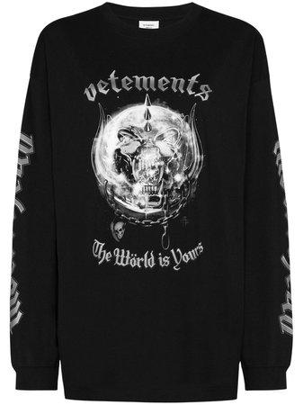 Vetements x Motörhead Långärmad t-shirt - Farfetch