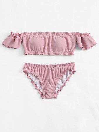 Pink Bathing Suit Top