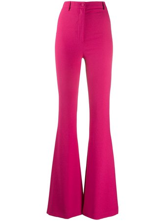 Hebe Studio Flared Trousers - Farfetch