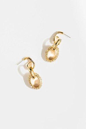 Ariel Chain Link Drop Earrings | francesca's