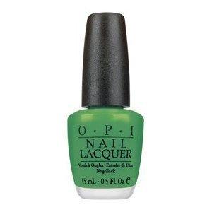 Green Nail Poilish