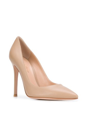 Gianvito Rossi Pointed Toe 110mm Heeled Pumps - Farfetch