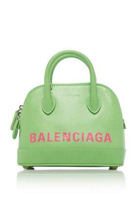 Ville Printed Leather Top Handle Bag By Balenciaga | Moda Operandi