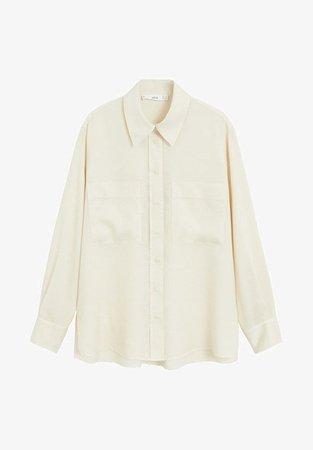 Shirt Mango white