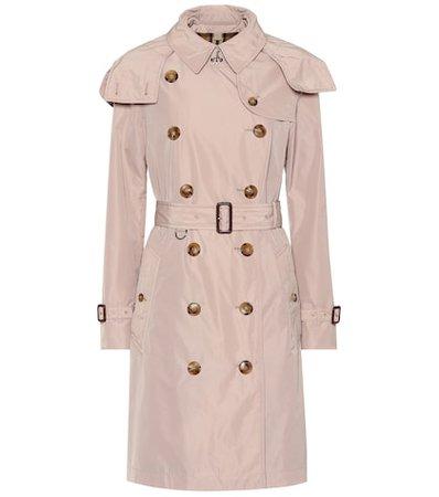 Kensington taffeta trench coat
