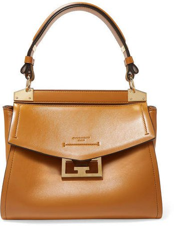 Mystic Small Leather Tote - Camel