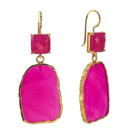 Google Image Pink Earrings