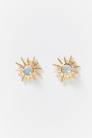 Studio Grun Starburst Post Earring | Urban Outfitters
