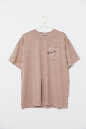 Nike Overdyed Pocket Tee   Urban Outfitters