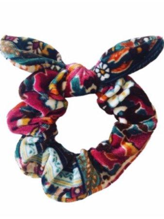 Multicolored Scrunchie
