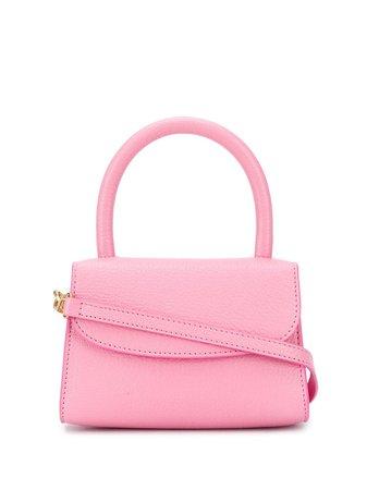 BY FAR mini tote bag pink 20FWMINAPPGRLSMA - Farfetch