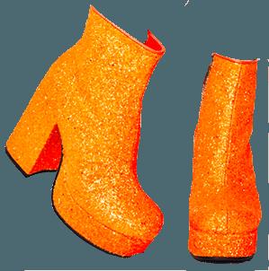TANGY KEEP YA SPARKLE GLITTER BOOTS