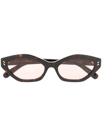 Stella McCartney Eyewear tortoiseshell-effect Sunglasses - Farfetch