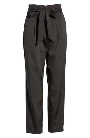 Lulus Paperbag Waist Pants   Nordstrom