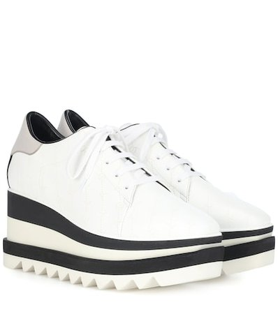 Sneak-Elyse platform sneakers