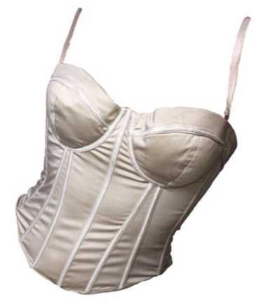 Cream Bustier - @polyvore3.0 PNG Collection