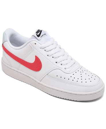 Nike Women's Nike Court Vision Low Casual Sneakers from Finish Line & Reviews - Finish Line Athletic Sneakers - Shoes - Macy's