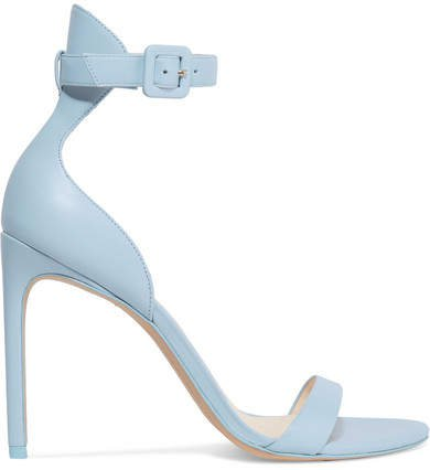 Nicole Leather Sandals - Blue