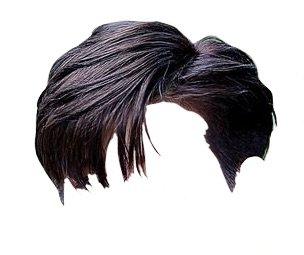 short black hair