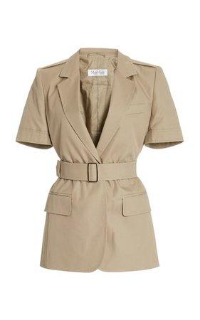 Dunbar Puffed Sleeve Cropped Jacket by Acler | Moda Operandi