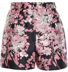 Metallic Brocade Shorts