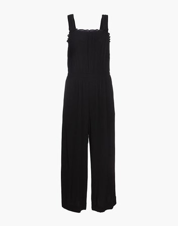 Smocked Tank Jumpsuit